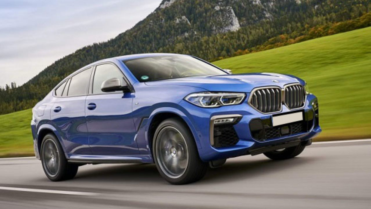 Exterior BMW X6M 2021